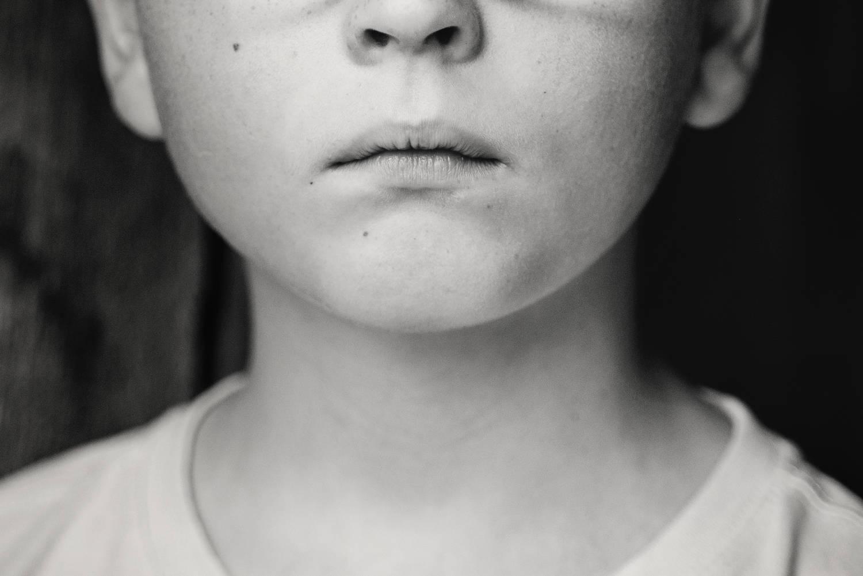 no child left behind sad child greyscale